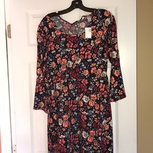 floral dress from justice